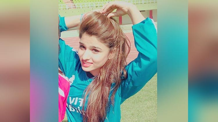 Syeda Mahpara from Pakistan The Prettiest football player