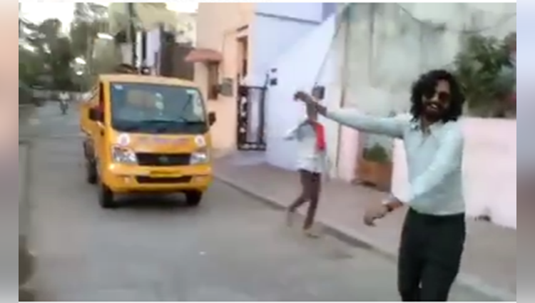 viral dance video on swachh bharat abhiyan song