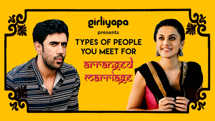 types of people you meet for arranged marriages Taapsee Pannu Amit Sadh