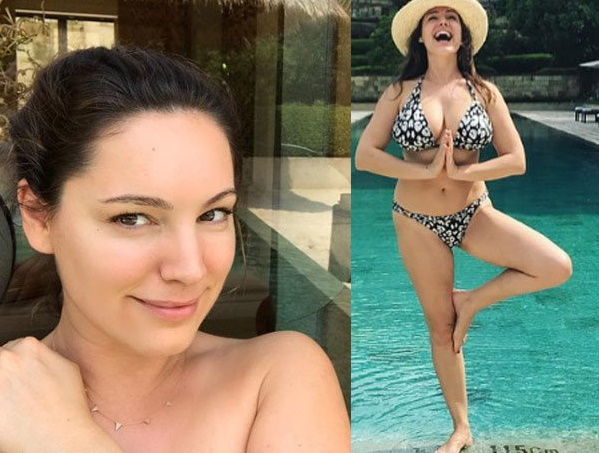 kelly brook share her photo on instagram