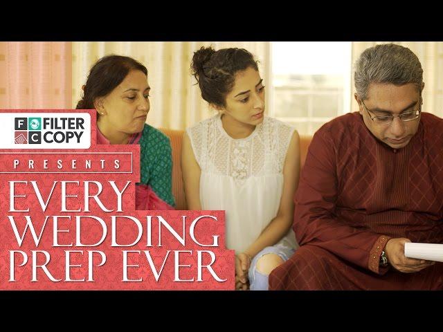 indian wedding preparations video