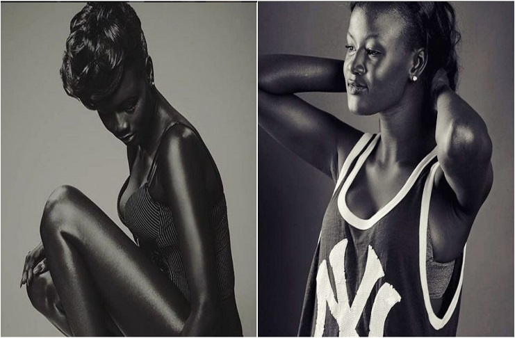 This black model getting plenty viral on social media