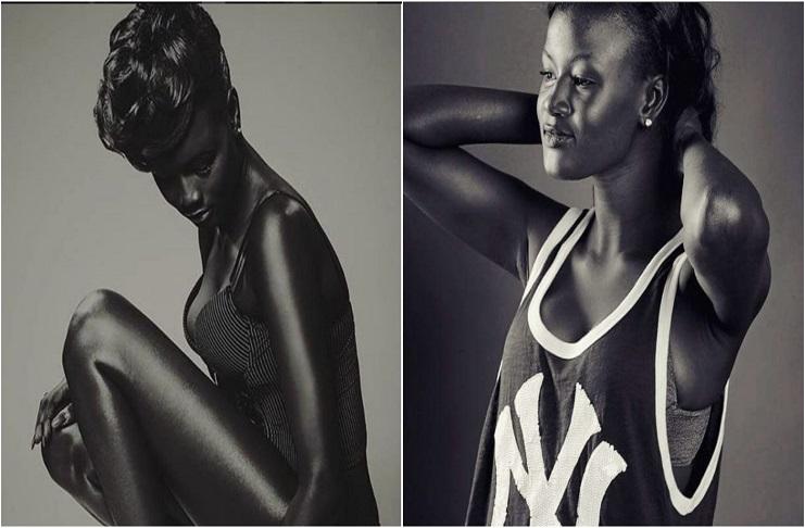 This black model getting plenty viral on social media