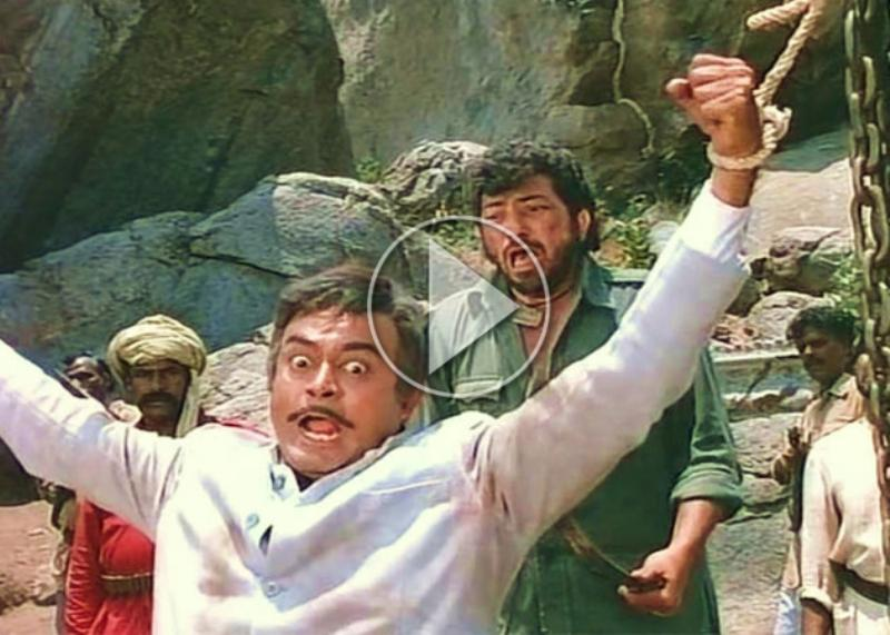 Sholay movie Thakur hands open secret, see Video