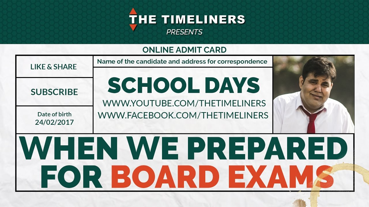 prepared for board exams funny video