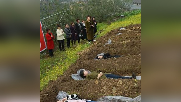 japan encouraged to lie in these graves