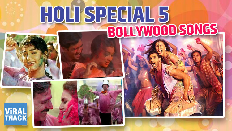 holi bollywood special songs