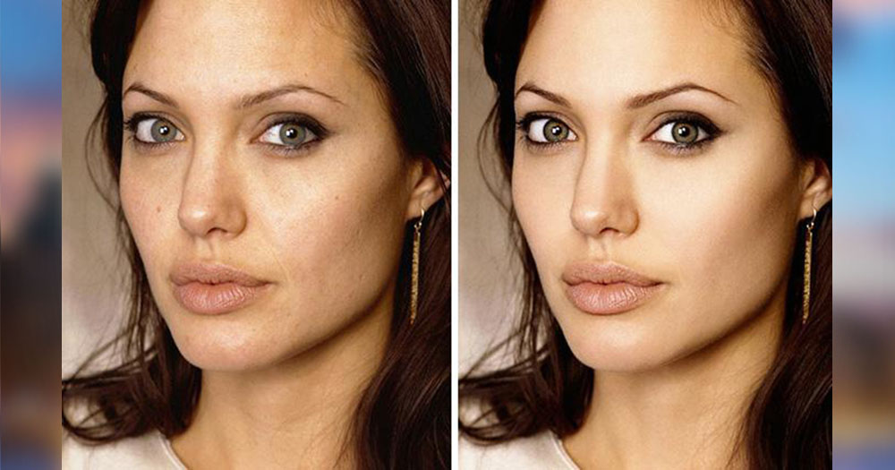celebrities photoshopped pictures