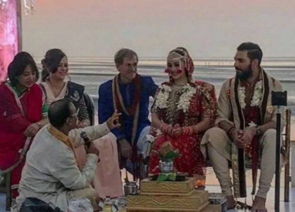yuvraj singh again marriage with hazel keech in goa