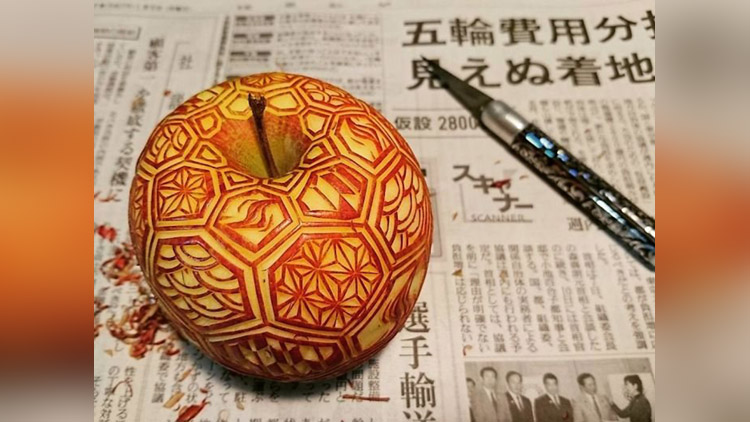 Unbelievable Food Carvings By Japanese Artist Gaku