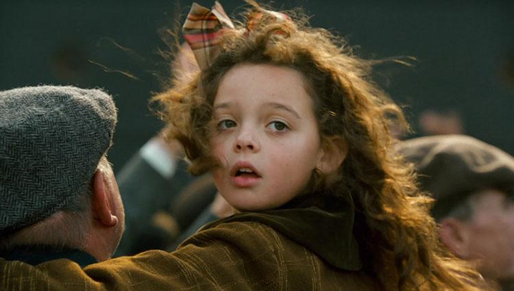 titanic little girl cora alexandrea owens sarno then and now