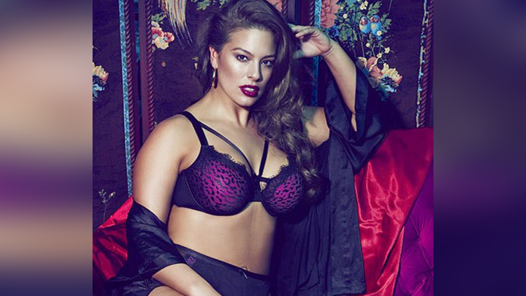 ashley graham photoshoot for elle collection