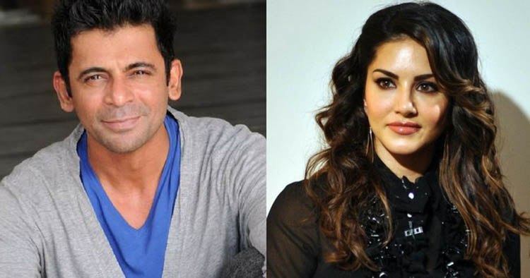 sunil grover comes with sunny leone for ipl commentary