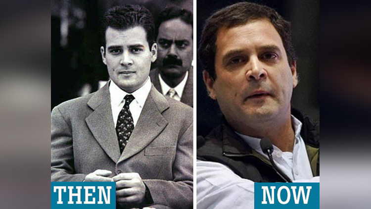indian politician then and now photos
