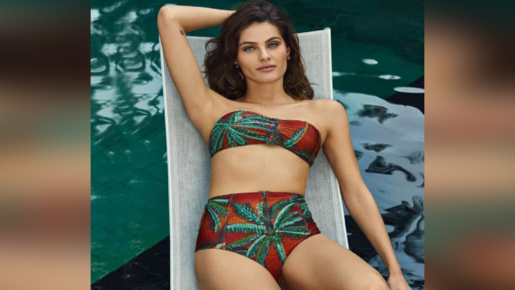 Model Isabeli Fontana news photoshoot for Cosmopolitan Brazil magazine