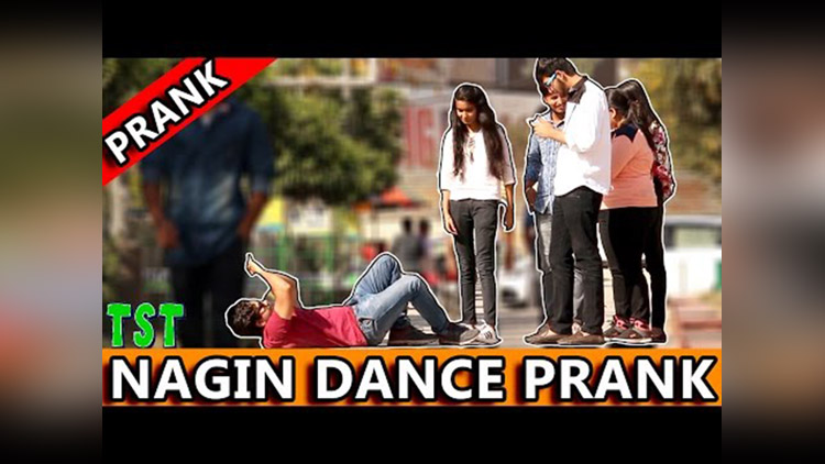 NAGIN Dance PrankTST Pranks in India 2017