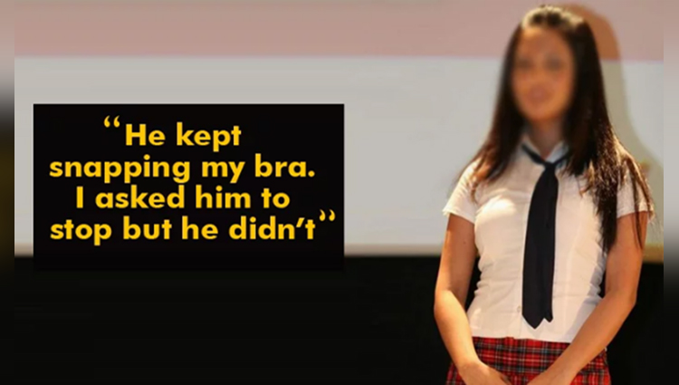 The Girl Was Blamed Of Injuring A Boy Who Snapped Her Bra. The Girls's Mom Gave A Reality Check The School Authorities