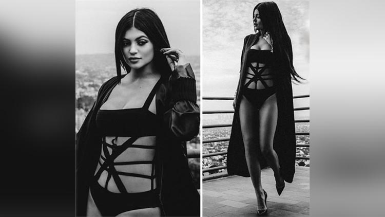 kylie jenner new photoshoot for 'Violet Grey' magazine