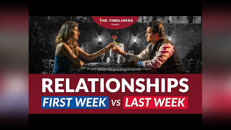 Relationships First Week vs Last Week