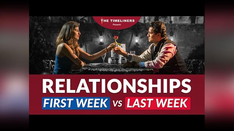 Relationships First Week vs Last Week