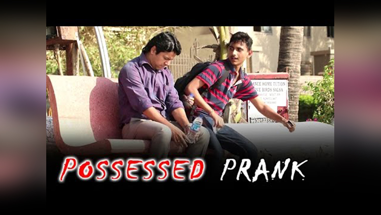 Possessed By Bollywood Actors Prank BOB Pranks In India