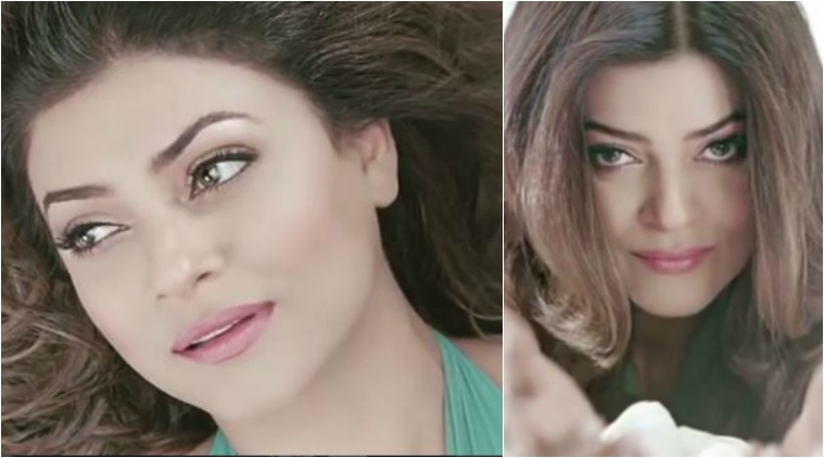 sushmita sen makes a comeback on tv screen