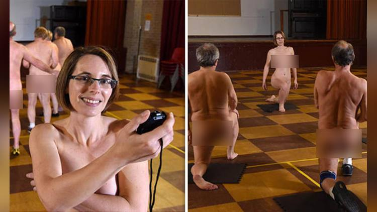 britains first naked workout classes