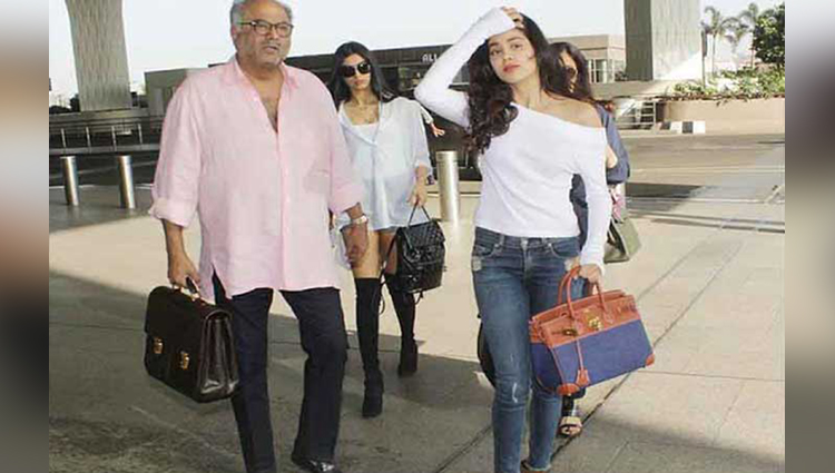 jhanvi khushi off to a vacation