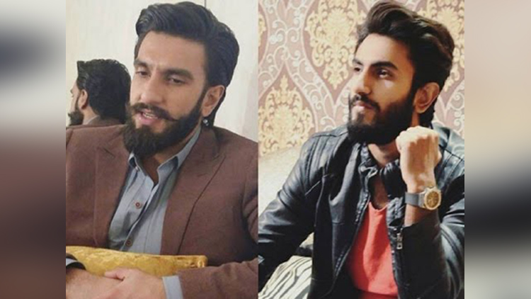 hammad shoaib look like Bollywood celebrities Ranveer Singh