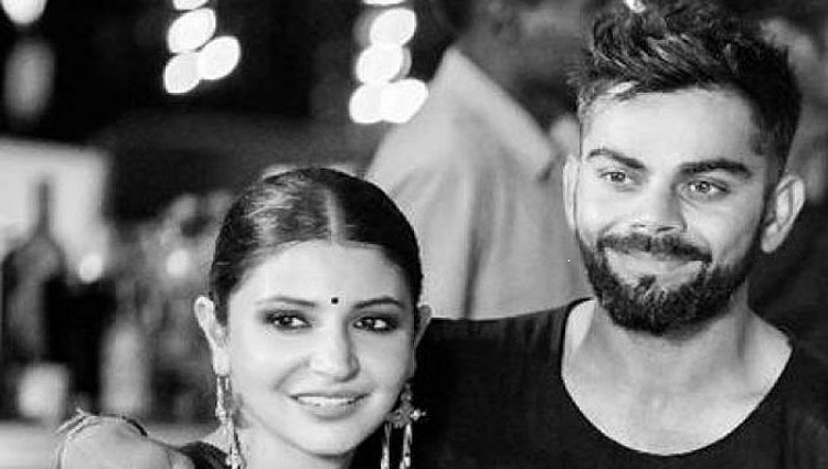 virat kohli's instagram dp with anushka sharma