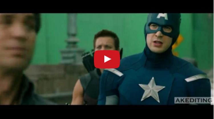 superhero dance video
