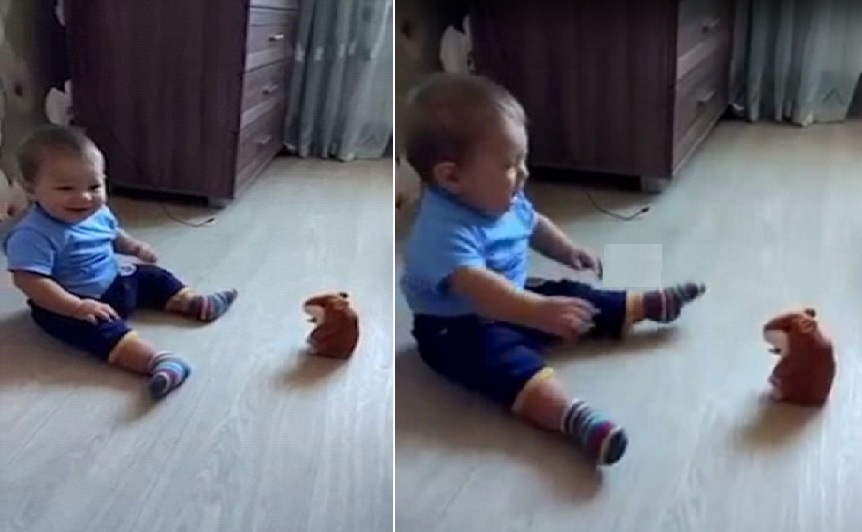 funny interesting video of baby