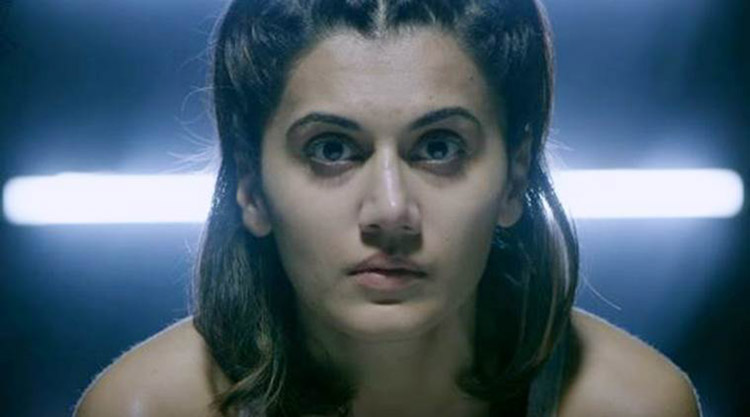 Taapsee Unblushed HitBack viral video