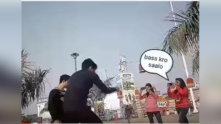 funny dance in public