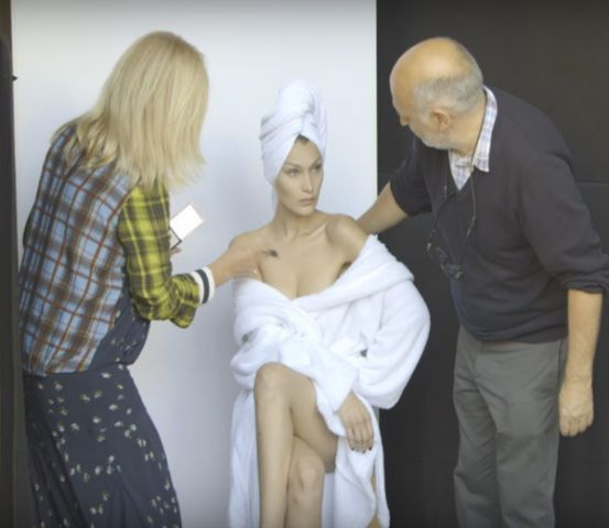 truth behind the photoshoot of models