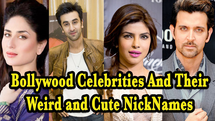 Do You Know These Bollywood Celebs' Unknown And Hilarious Nicknames?