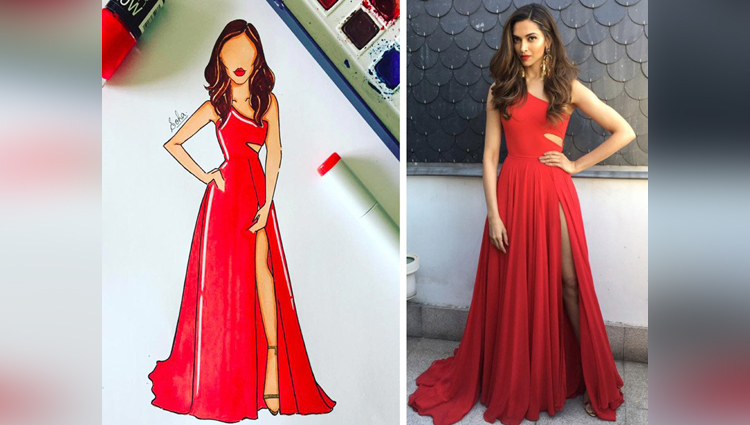 woman recreates the red carpet looks of bollywoods lead