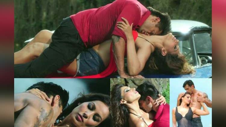 bipasha and karan in condom ad