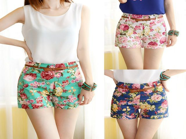 girls fashionable shorts