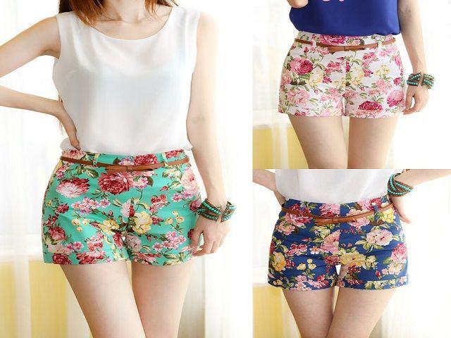 girls fashionable shorts