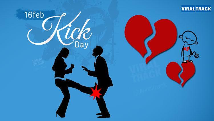 funny way to kick day celebration