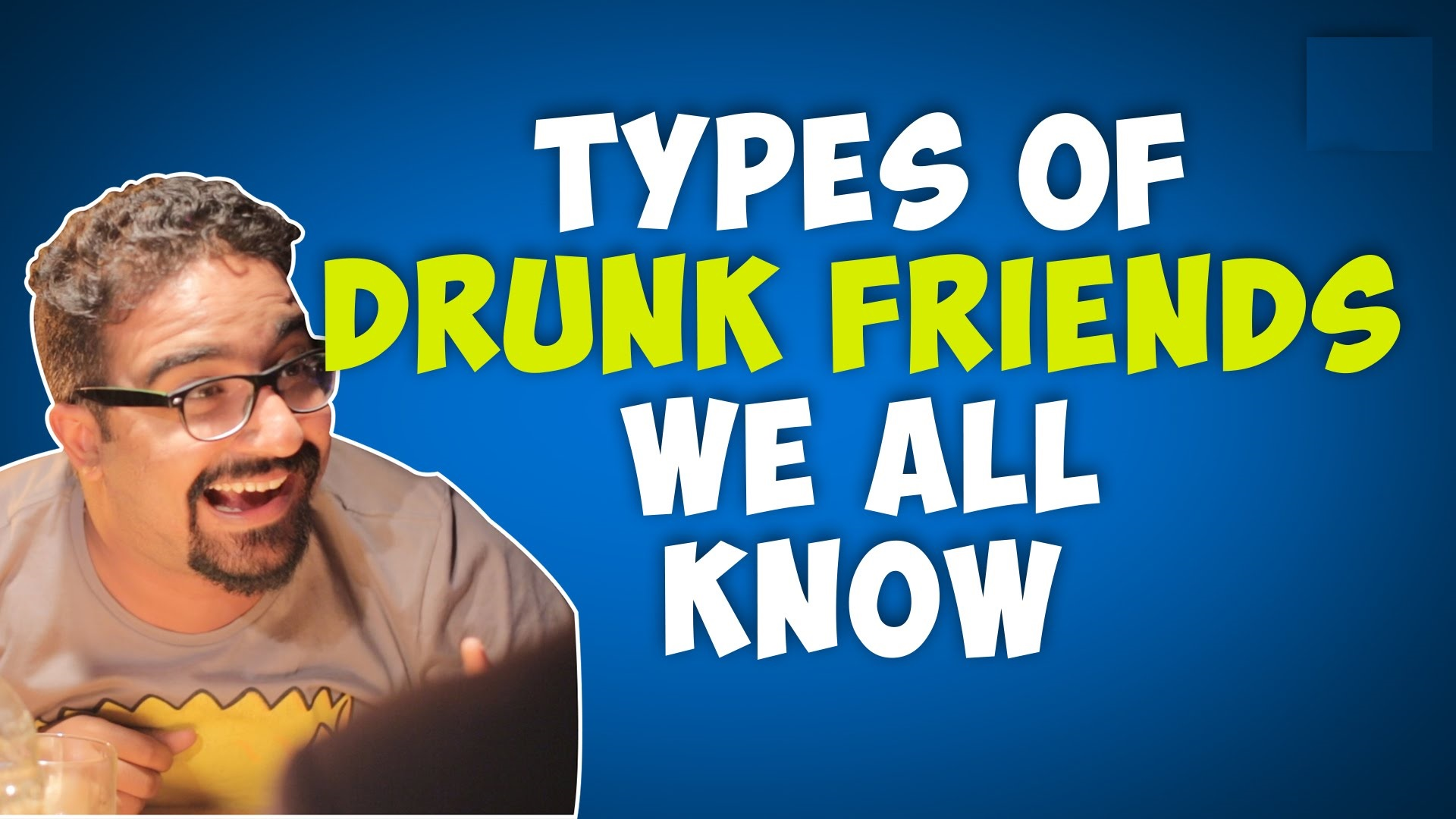 types of drunk friends