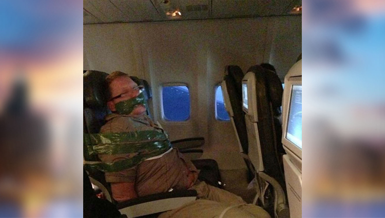 funny pictures of people in flight