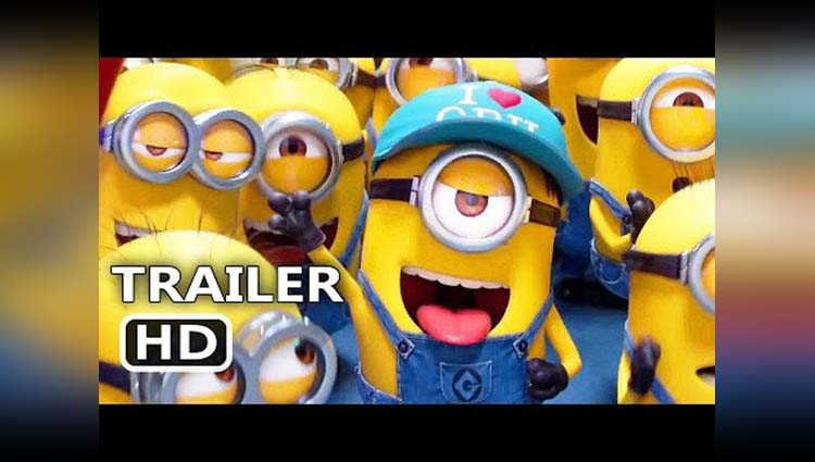 Minion Animated Movie Despicable 3 Second Trailer Is Out