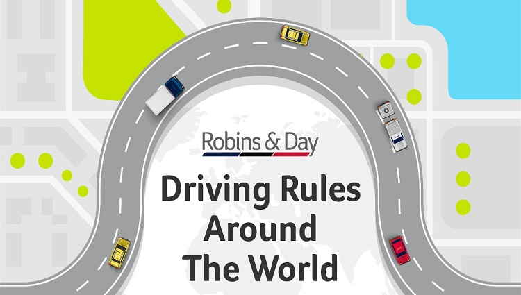 weird driving rules around the world