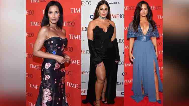 Time 100 Gala fashion event photos