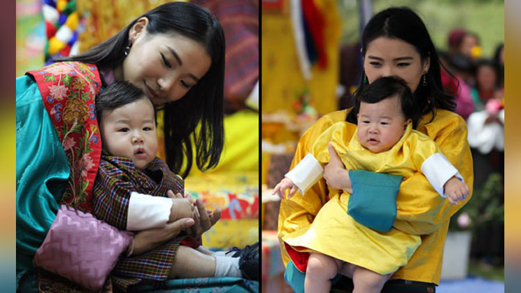 viral pictures of prince of bhutan