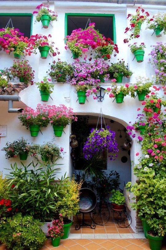 decoration by flowers