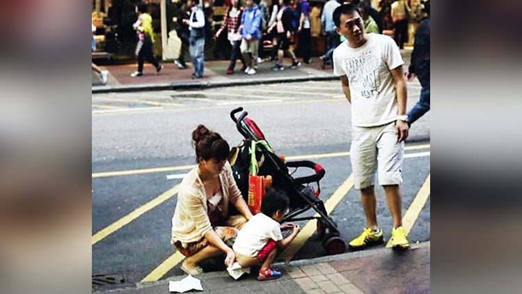 Dirty Chinese tourists and their uncivilized behavior is improving