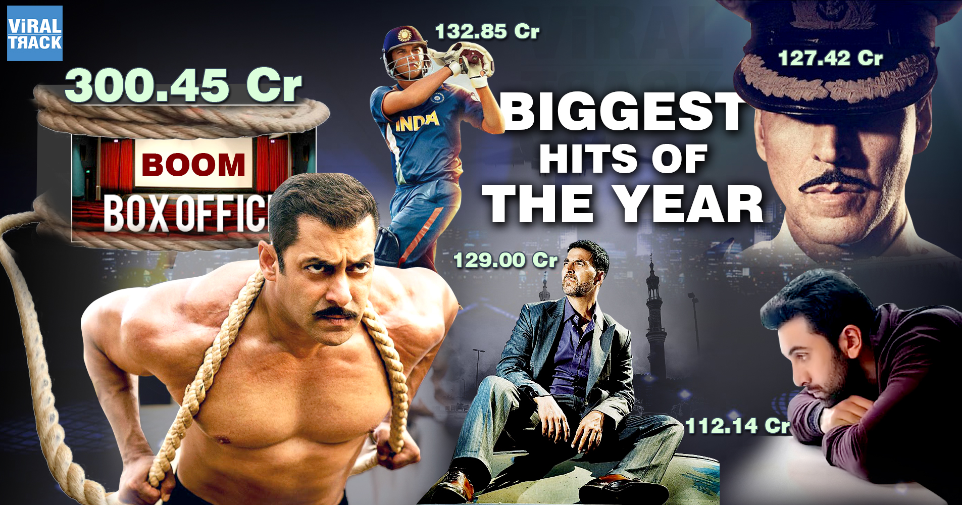 Collection and top 5 films of bollywood this year 2016